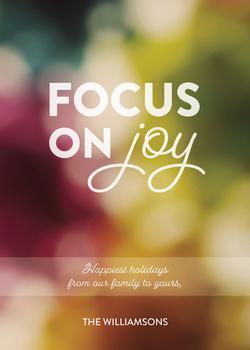 Focus On Joy